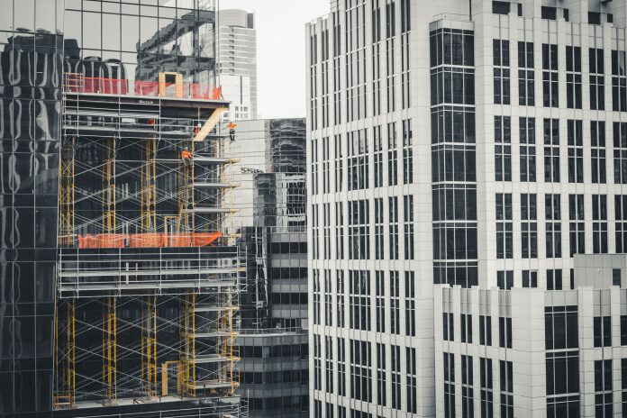 Werken op hoogte, bouwvakker, consrtruction