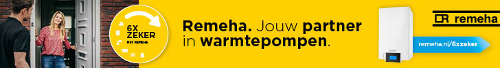 banner remeha-warmptepompen